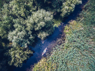 Exploring Danube Delta from above