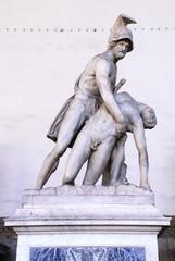Menelaus supporting the body of Patroclus in the Loggia dei Lanzi