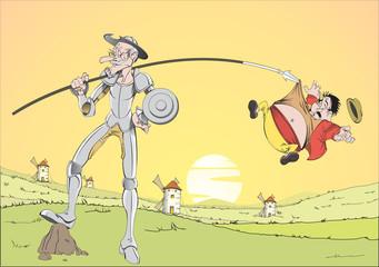 Don Quixote Sundown