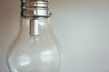 Image of light bulb representing overthinking concept