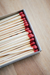 Matchstick in paper box