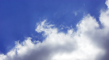 image of cloudy sky close-up