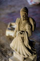 Indian King Shivaji Maharaj sculpture