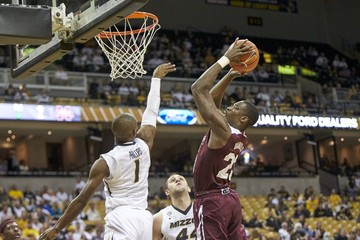 NCAA Basketball: Mississippi State at Missouri
