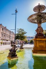 La fontaine de la place Jean-Jaurès à Castres