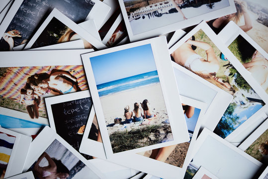Close-up of instant shots