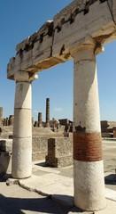 Italie Pompei forum ruines architecture