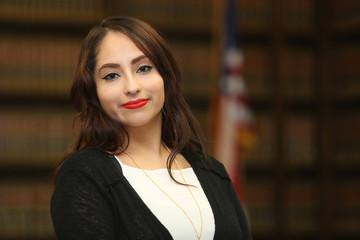 Portrait of a multi ethnic professional woman, woman lawyer
