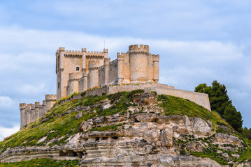 Penafiel Castle, Valladolid Province, Spain