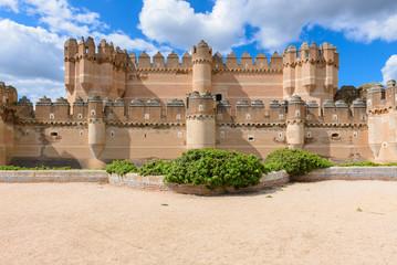 Coca Castle, Segovia Province, Spain