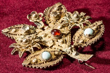 Golden Brooch