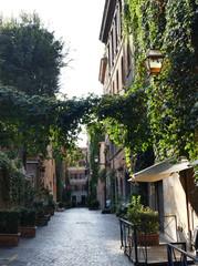 Schöne Gassen in Rom