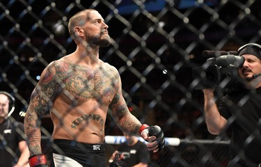 MMA: UFC 203-Gall vs Punk