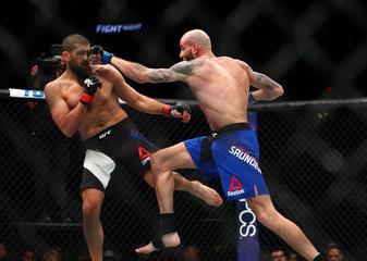 MMA: UFC Fight Night-McGee vs Saunders