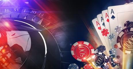 Conceptual Casino Illustration