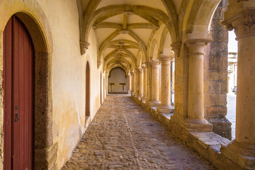 Medieval Templar castle in Tomar