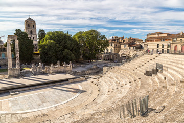 Wall Mural - Roman amphitheatre in Arles, France