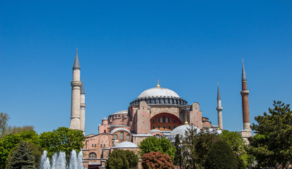Hagia Sophia,  the world famous monument