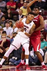 NCAA Basketball: Arkansas at South Carolina