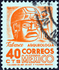 Sculpture, Tabasco (Mexico 1950)