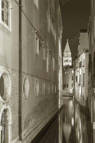 Fototapete idyllic landscape of Venice, Italy