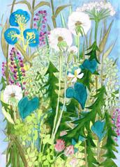 植物が種を飛ばす季節