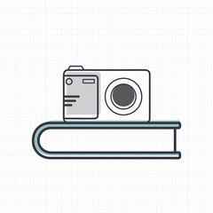 Vector of camera icon