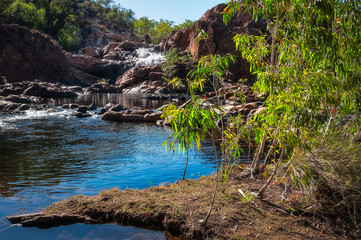 Edith Falls upper pool and cascade, Northern Territory, Australia