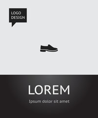 Vector Illustration Of Shopping Symbol On Shoes  Icon. Premium Quality Isolated Footwear Element In Trendy Flat Style.