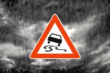 Verkehrswarnung