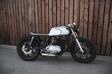Custom motorcycle caferacer