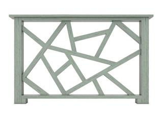 Azek design wood railing