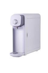 Water Purifier from Korea Technology in White Background with Path