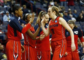 NCAA Womens Basketball: NCAA Tournament-Albany Regional-Dayton vs Louisville