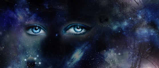 Eyes and Universe