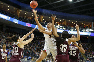 NCAA Womens Basketball: NCAA Tournament-Bridgeport Regional-Connecticut vs Mississippi State