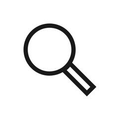 Search Vector Icon. Editable Stroke. 256x256 Pixel Perfect