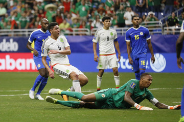 Soccer: 2017 CONCACAF Gold Cup-Curacao at Mexico