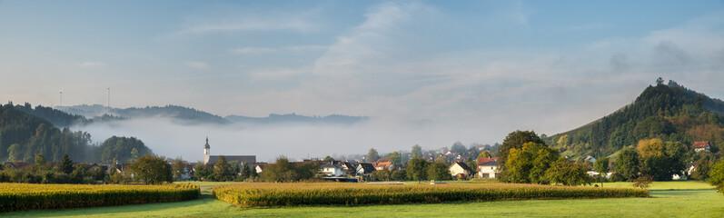 Panorama von Berghaupten im Schwarzwald