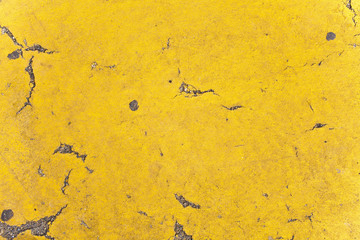 Texture Stone Cement Concrete Wall Wallpaper Background Ground Flat Rough Dirty Grunge Color Destroyed Distorted Eroded Old Retro Vintage Decorative Yellow Sun Lines Strokes Organic Sprinkler Close Up