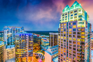 Fototapete - Downtown Orlando Florida