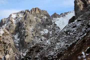 Panorama di roccia sulla Grigna