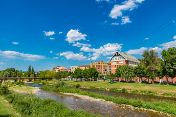 View of Najera town, La Rioja, Spain