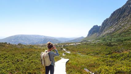Exploring Cradle Mountain in Tasmania
