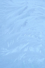 Ice blue ornament