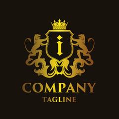 luxury Letter 'i' Logo