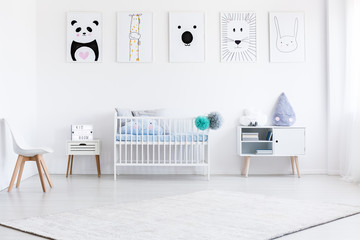 Boy's bedroom with gallery