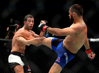 MMA: UFC Fight Night-Saenz vs Mendes