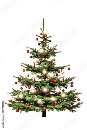 geschm ckter weihnachtsbaum stockfotos und lizenzfreie bilder auf bild 173996099. Black Bedroom Furniture Sets. Home Design Ideas