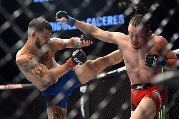 MMA: UFC Fight Night-Swanson vs Kawajiri